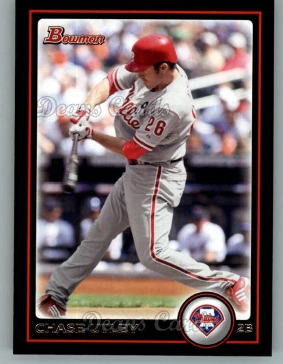 2010 Bowman #90  Chase Utley