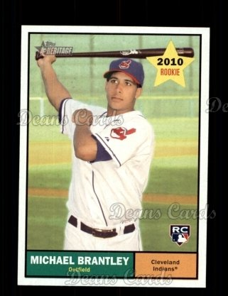 2010 Topps Heritage #172  Michael Brantley