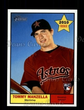 2010 Topps Heritage #428  Tommy Manzella