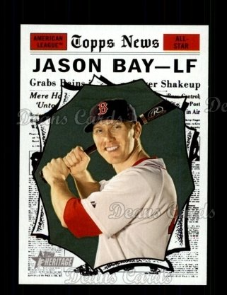 2010 Topps Heritage #491   -  Jason Bay All-Star
