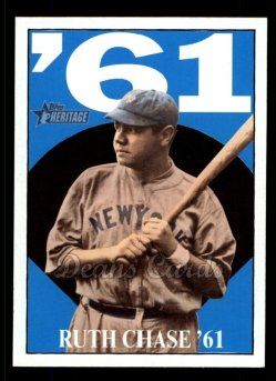 2010 Topps Heritage Ruth Chase 65 #5 BR Babe Ruth