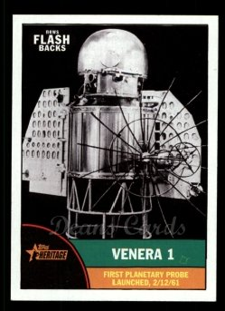 2010 Topps Heritage News Flashbacks #4 NF  News Flashbacks - Venera 1