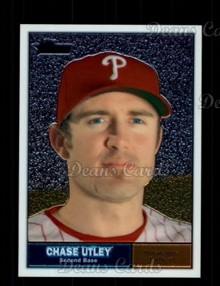 2010 Topps Heritage Chrome #50  Chase Utley
