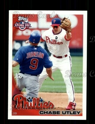 2010 Topps Opening Day #122  Chase Utley