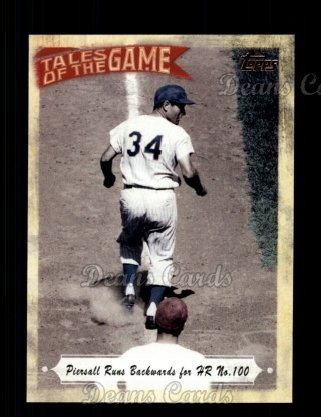 2010 Topps Tales of the Game #100   Piersall Runs Backwards for HR