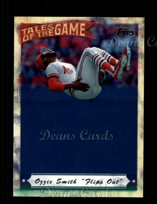 # TOG15 Ozzie Smith Flips Out - 2010 Topps Tales of the Game