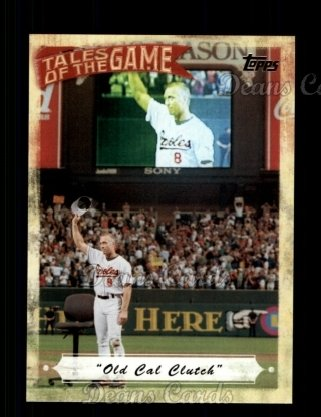 # TOG19 Old Cal Clutch - 2010 Topps Tales of the Game