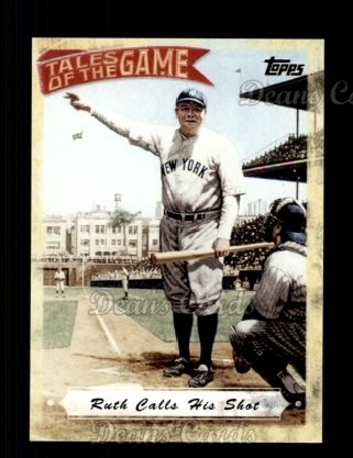 # TOG3 Ruth Calls His Shot - 2010 Topps Tales of the Game
