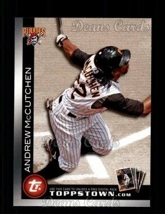 2010 Topps Ticket to Topps Town #22 TTT  -  Andrew McCutchen Ticket to Topps Town