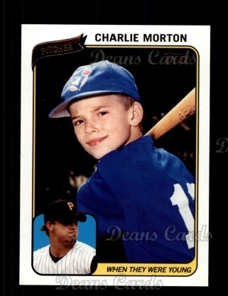 2010 Topps When They Were Young #4 WTWY  -  Charlie Morton When They Were Young
