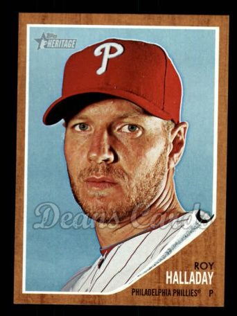 2011 Topps Heritage #453  Roy Halladay