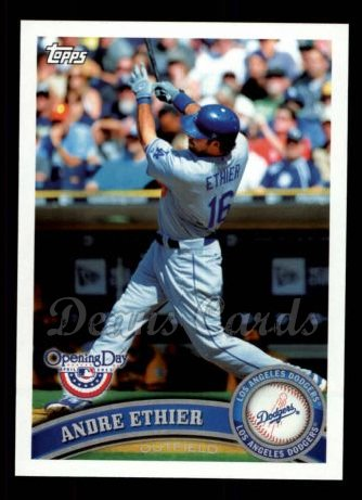 2011 Topps Opening Day #112  Andre Ethier