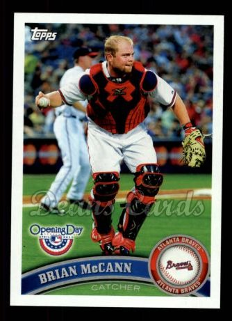 2011 Topps Opening Day #158  Brian McCann