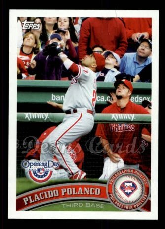 2011 Topps Opening Day #52  Placido Polanco