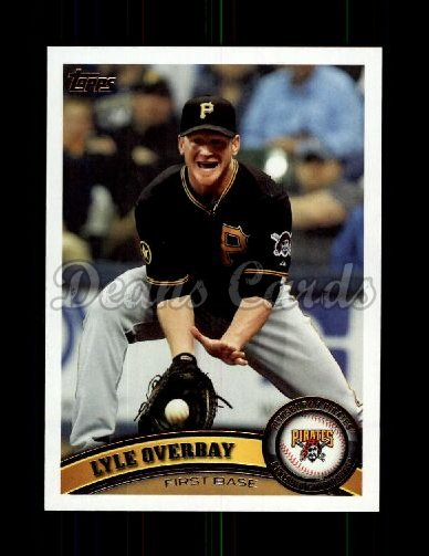 2011 Topps Update #95  Lyle Overbay