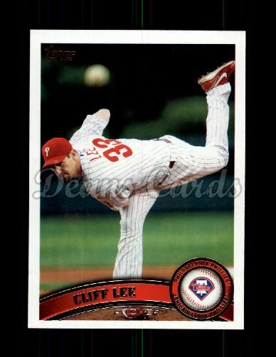 2011 Topps Update #100  Cliff Lee