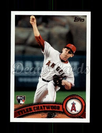 2011 Topps Update #184  Tyler Chatwood