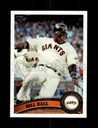 2011 Topps Update #224  Bill Hall