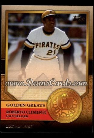 2012 Topps Golden Greats #38   -  Roberto Clemente Last Not Least