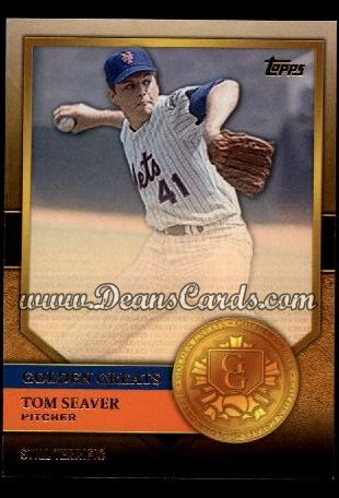 2012 Topps Golden Greats #60   -  Tom Seaver Still Terrific