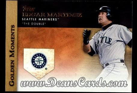 2012 Topps Golden Moments Series 1 #11 GM  -  Edgar Martinez The Double