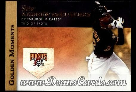 2012 Topps Golden Moments Series 1 #12 GM  -  Andrew McCutchen Trio Of Trots