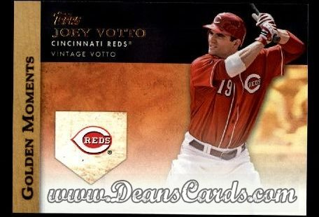 2012 Topps Golden Moments Series 1 #41 GM  -  Joey Votto Vintage Votto