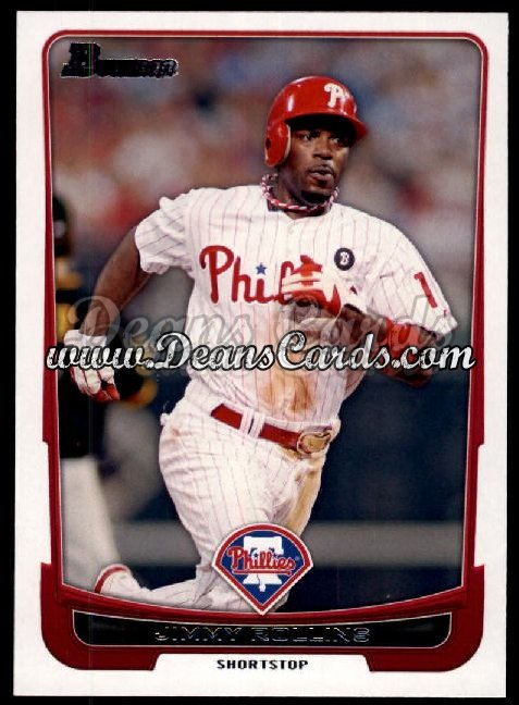 2012 Bowman #80  Jimmy Rollins
