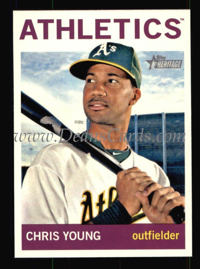 2013 Topps Heritage #92  Chris Young