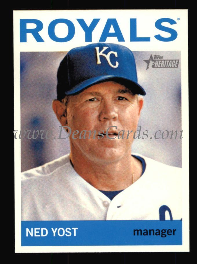 2013 Topps Heritage #121  Ned Yost