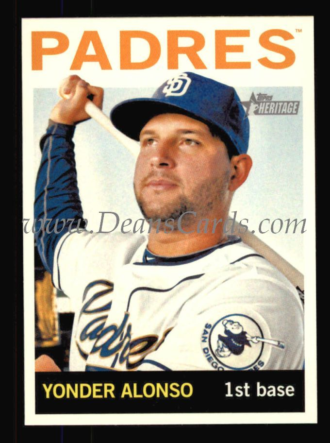 2013 Topps Heritage #252  Yonder Alonso