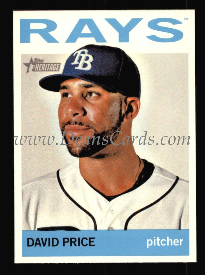 2013 Topps Heritage #458  David Price