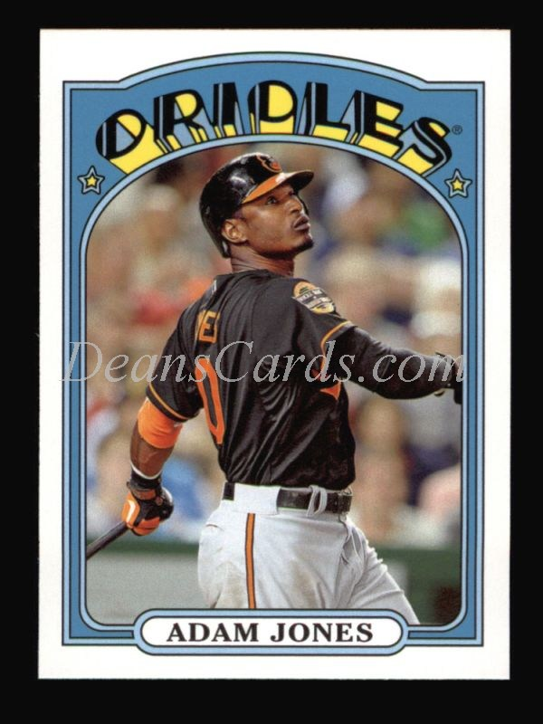 2013 Topps 1972 Minis #9  Adam Jones