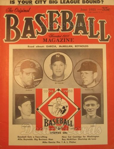 1953 Baseball Magazine    June