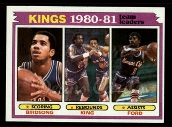 1981 Topps #54   Kings Leaders