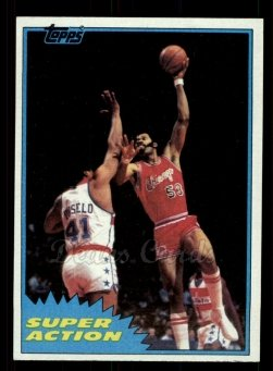 1981 Topps #107 MW  -  Artis Gilmore Super Action