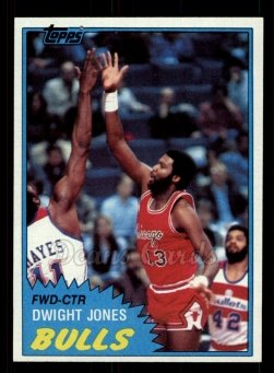 1981 Topps #68 MW Dwight Jones