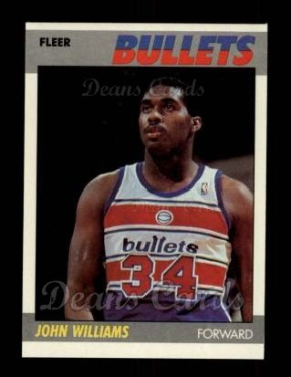 1987 Fleer #122  John Williams