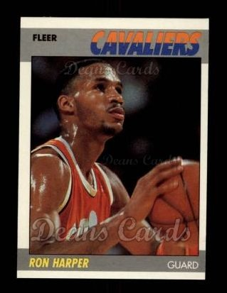 1987 Fleer #49  Ron Harper