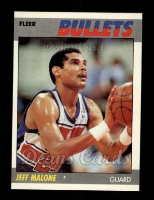 1987 Fleer #67  Jeff Malone