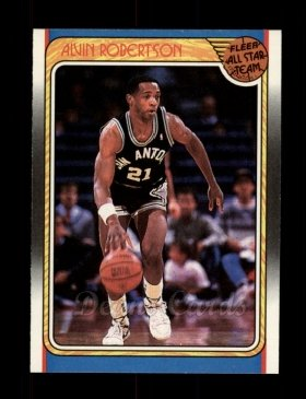 1988 Fleer #128   -  Alvin Robertson All-Star