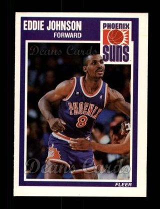 1989 Fleer #122  Eddie Johnson