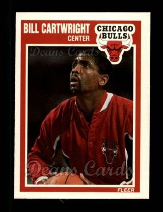1989 Fleer #19  Bill Cartwright