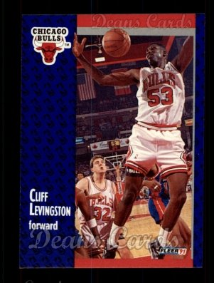 1991 Fleer #30  Cliff Levingston