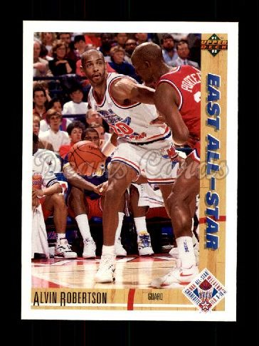1991 Upper Deck #64   -  Alvin Robertson All-Star