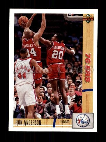 1991 Upper Deck #180  Ron Anderson