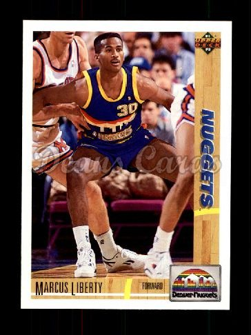 1991 Upper Deck #222  Marcus Liberty