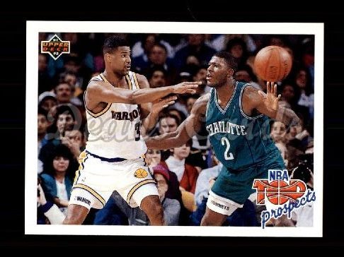 1991 Upper Deck #438   -  Larry Johnson / Billy Owens Top Prospects