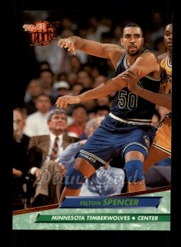 1992 Fleer Ultra #112  Felton Spencer