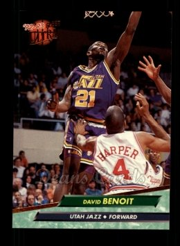 1992 Fleer Ultra #177  David Benoit